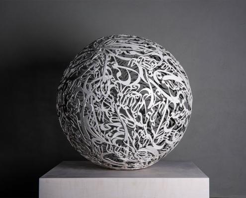 Alireza Astaneh-The-Sculpture-Garden-series-No7