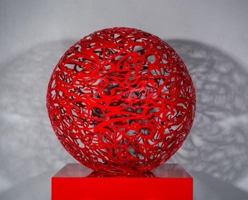 Alireza-Astaneh-The-Sculpture-Garden-series-No12