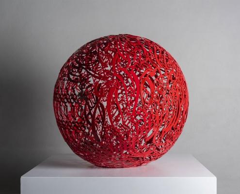 Alireza-Astaneh-The-Sculpture-Garden-series-No14